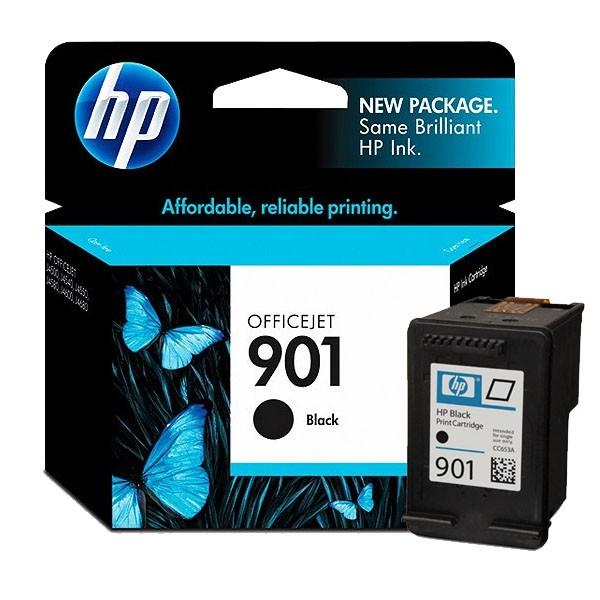 Tinteiro Officejet 4500/J4580 HP Nº901 (CC653A) Preto