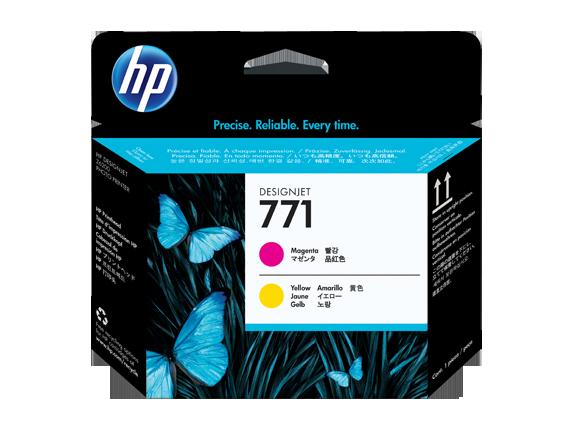 Cabeca de Impressao HP 771 Magenta/Amarelo