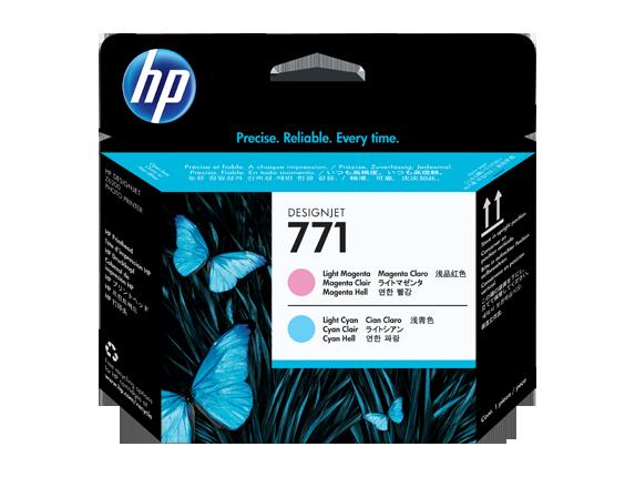 Cabeca de Impressao HP 771 Magenta Claro/Azul Claro