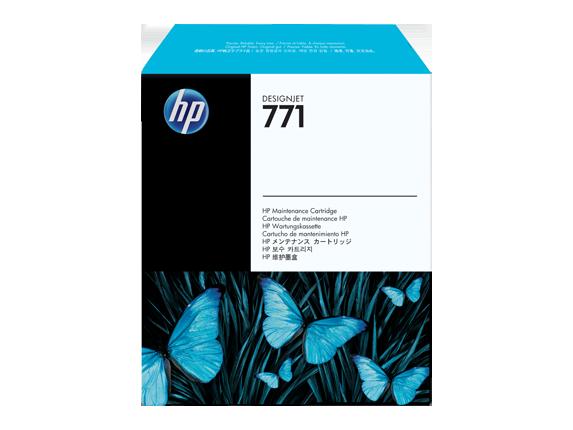 Tinteiro de Manutencao HP 771 DesignJetZ6200 Photo Series