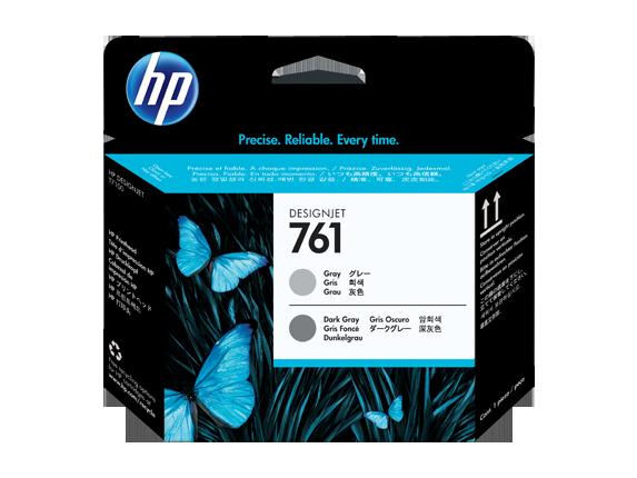 Cabeca de Impressao HP 761 Cinza/Cinza Escuro