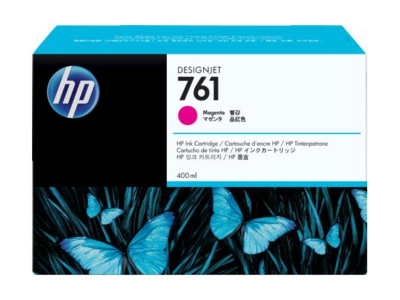 Tinteiro HP 761 Magenta