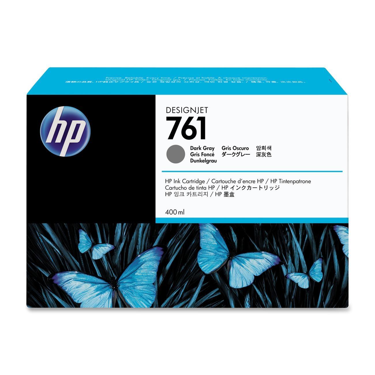 Tinteiro HP 761 Cinzento Escuro