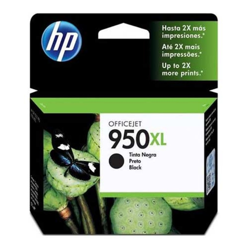 Tinteiro HP Officejet Pro 8100/8600 Preto Alta Cap 950XL
