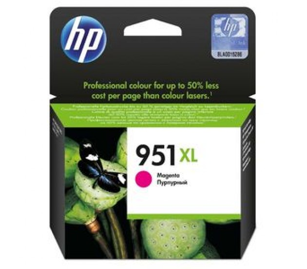 Tinteiro HP 951XL Officejet Pro 8100/8600 Magenta