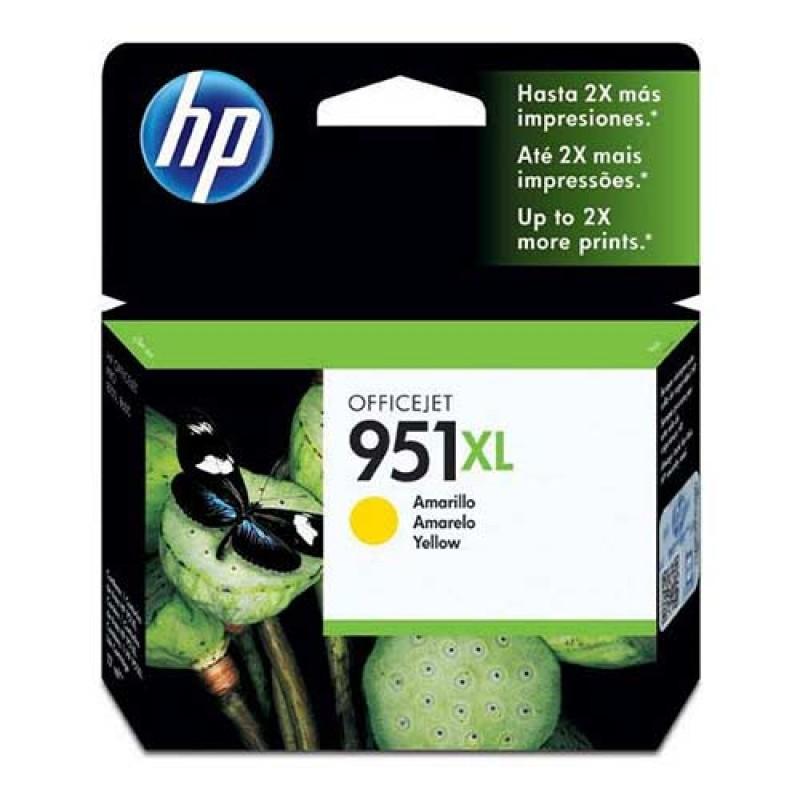 Tinteiro HP 951XL Officejet Pro 8100/8600 Amarelo