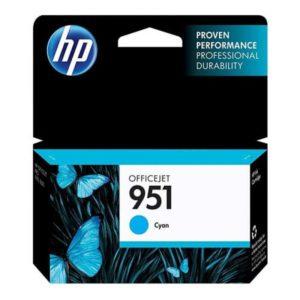 Tinteiro HP 951 Officejet Pro 8100/8600 Cyan