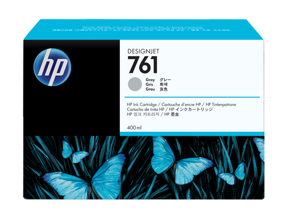 Tinteiro HP Nº761 Cinzento Pack 3