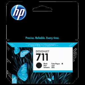 Tinteiro HP Dsignjet T120/T520 Nº711 Preto