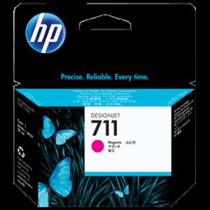 Tinteiro HP Dsignjet T120/T520 Nº711 Magenta