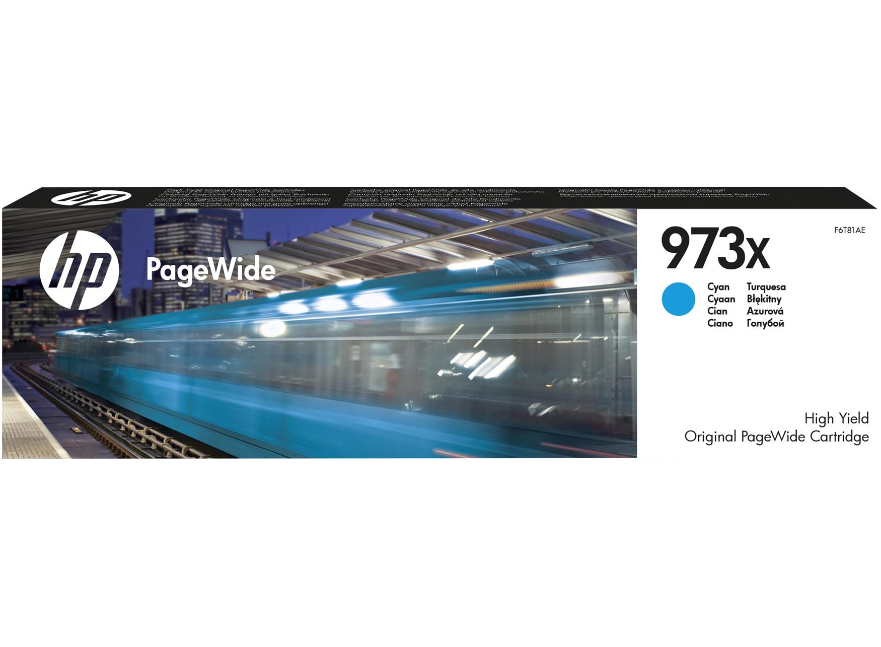 Tinteiro PageWide Pro 452/477/577 Nº973X Azul