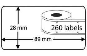 Etiquetas Compatíveis Dymo LabelWriter 99010 / S0722370 X2