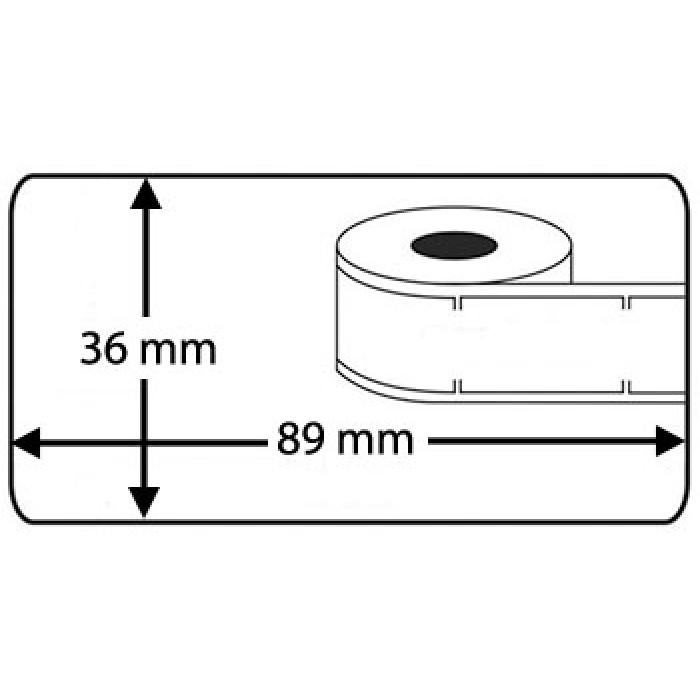 Etiquetas Compatíveis Dymo LabelWriter 99012 / S0722400