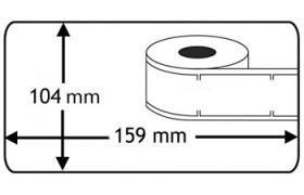 Etiquetas Compatíveis Dymo LabelWriter 4XL S0904980
