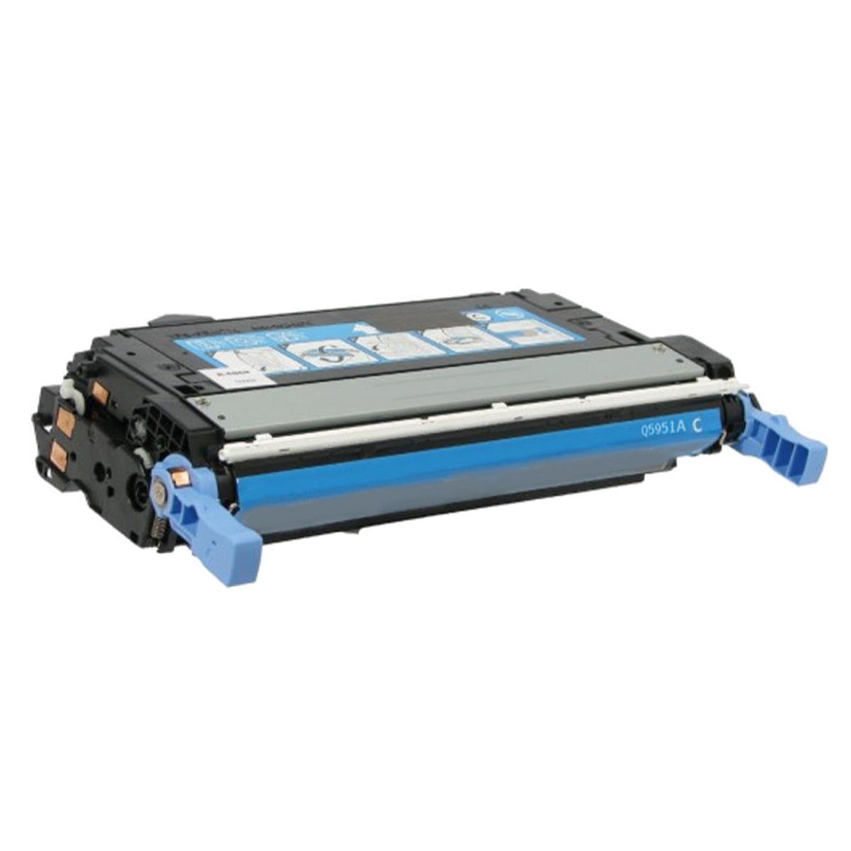 Toner Compatível HP Q5951A Azul Nº643A