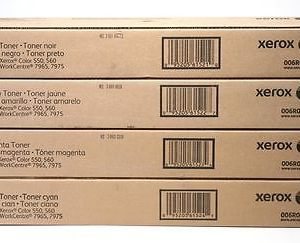 Xerox® WorkCentre™ 7965 7975 Color 550 560 CMYK Toner Set 006R01521 006R01522 006R01523 006R01524