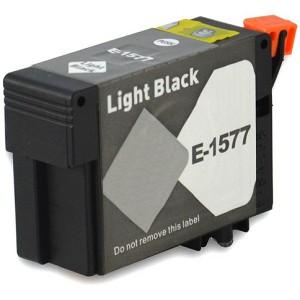 Tinteiro Compatível EPSON T1577 PRETO LIGHT
