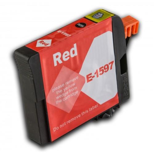 Tinteiro Compatível EPSON T1597 Vermelho