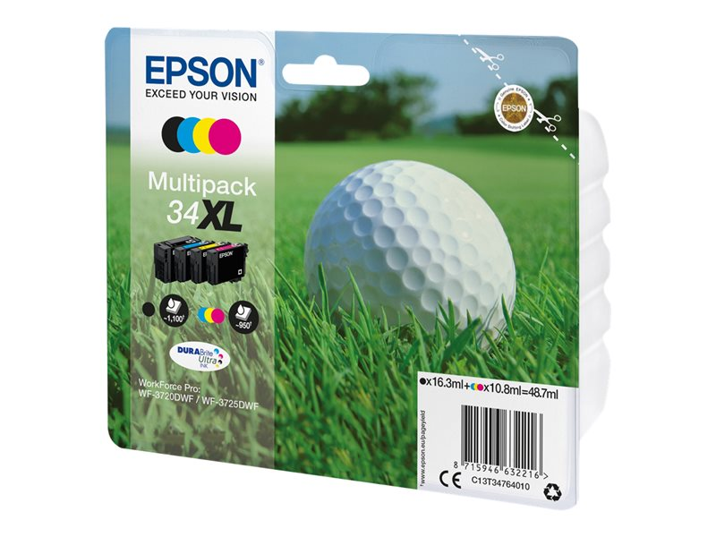 Multipack Epson 34XL T3476