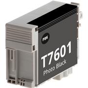 Tinteiro Compatível EPSON T7601 Preto Foto