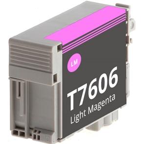 Tinteiro Compatível EPSON T7606 MAGENTA Claro