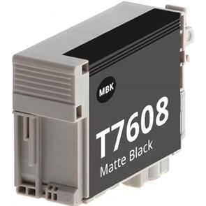 Tinteiro Compatível EPSON T7608 PRETO MATTE